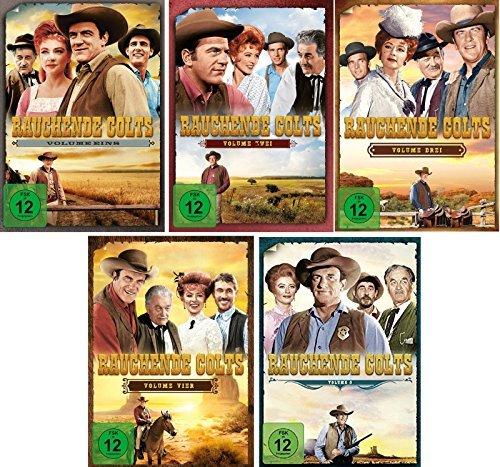 Rauchende Colts - Volume 1-5 im Set - Deutsche Originalware [ 33 DVDs]