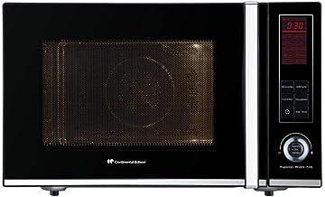 CONTINENTAL EDISON CEMO28CGSB - Micro-onde combiné grill vapeur 28L - Noir