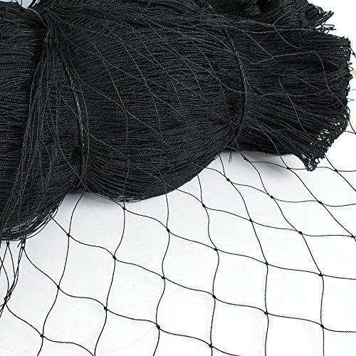 BaikaloTZ 25' X 50'/ 50' X 50' Garden Net Netting for Bird Poultry Aviary Game Pens w/ 2''x 2' Mesh (25' X 50')