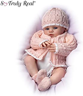 Abby Rose So Truly Real Award-Winning Lifelike, Realistic Newborn Baby Doll 18-inches by The Ashton-Drake Galleries