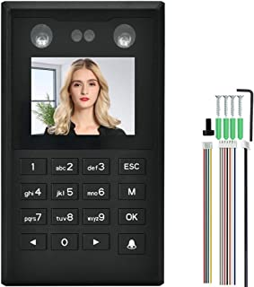 PBZYDU Door Access Card Reader, 2.8in TFT Face Palmprint Time Attendance Wiegand26 Access Control Machine(X122 Without TCP/IP)