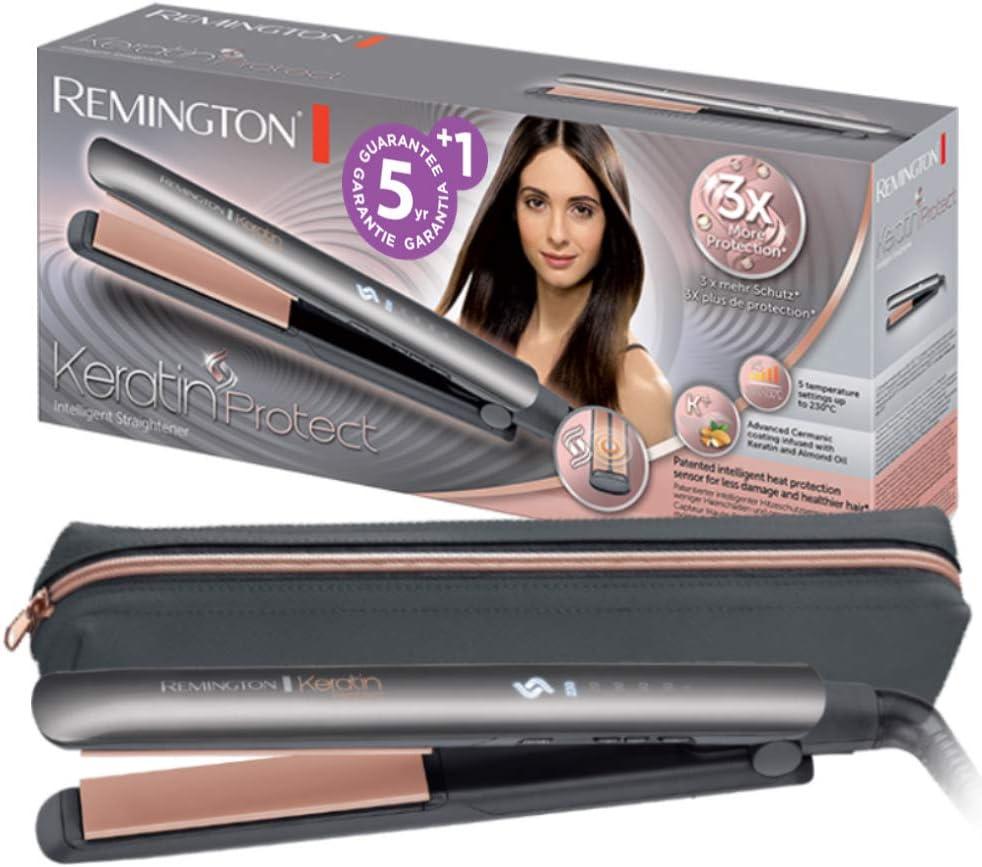 Piastra-per-capelli--Remington Keratin Protect S8598 Piastra per Capelli in Ceramica