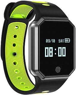 JSGJSH 2018 New Smart Bracelet Smart Band Pedometer Blood Pressure Monitor Wrist Watch Pulse Meter Heart Rate Fitness Tracker Wristband Bracelet Blood Pressure