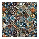 ANWUYANG BU 1 Unids 100% Algodón Tela De Color Tótem Tótem Tótem, 110 Cm Material De Costura De Impresión Digital Bricolaje Ropa De Vestir Patchwork (Color : Sample 55cmx50cm)