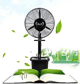 Ventilador industrial, ventilador de pedestal | 3 modos operativos | Oscilación 80 ° | Altura ajustable y cabeza del ventilador pivotante | Perfecto para casas, oficinas y dormitorios.