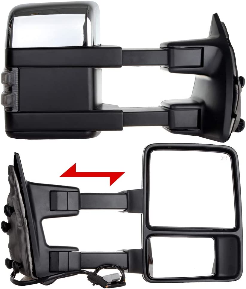 ZENITHIKE Tow Mirrors with Driver security and In a popularity Passenger Side Power Opera
