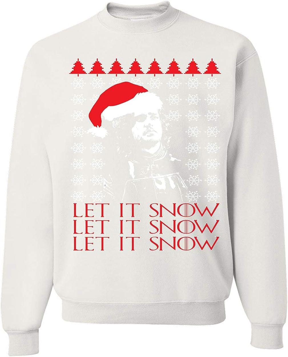 Let Al sold out. It Snow X3 Jon Santa GoT Thrones Nippon regular agency Ugly Christmas Mens