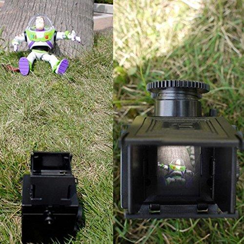 Pixco DIY Holga Lomo Cámara TLR Doble Lente Reflex 35 mm Gakken ...