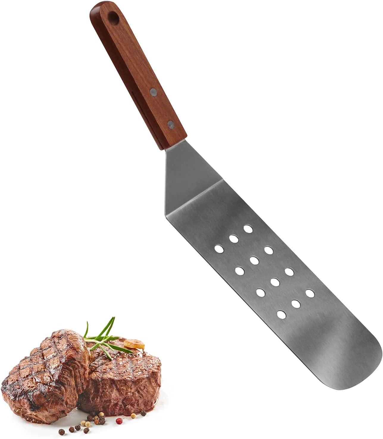 Qinshaine Metal Griddle 2021 spring and Fashionable summer new Spatula Turner Scrape Hamburger