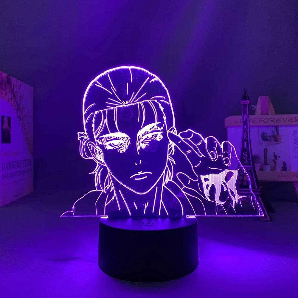 Angriff auf Titan Japanese Anime Light 3D LED High quality new Popularity Lamp Illusion Sign