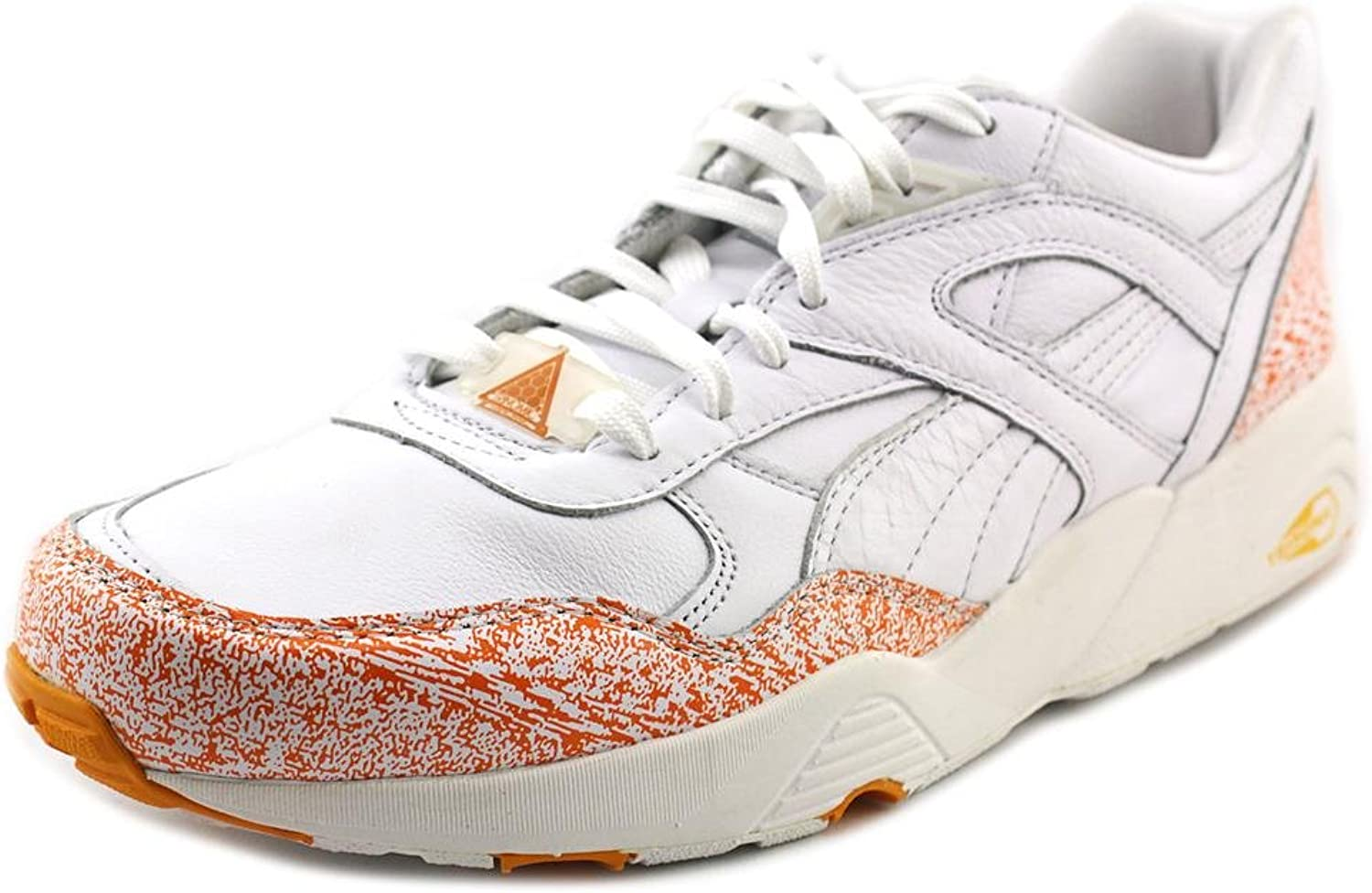 Puma Mens Snow Spatter Pack Leather Retro Casual shoes White 7