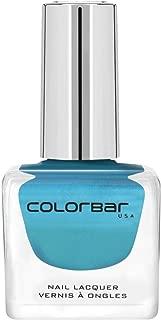 Colorbar Colorbar Luxe Nail Lacquer, Peacock Blue 105, 12ml