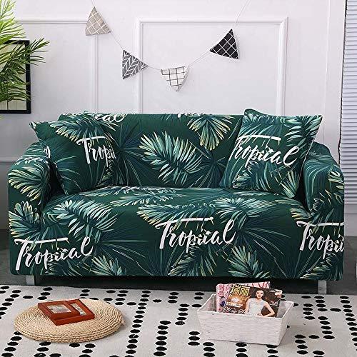 Funda de sofá Strecth con Estampado Floral Fundas de sofá de geometría elástica para Sala de Estar Fundas para sillón Funda de sofá A16 1 Plaza
