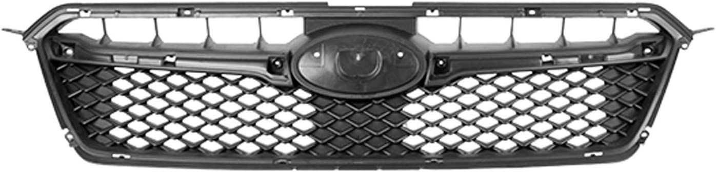 MDR Replacement Compatible Grille Black Max 65% OFF Matte Rep for Ranking TOP2