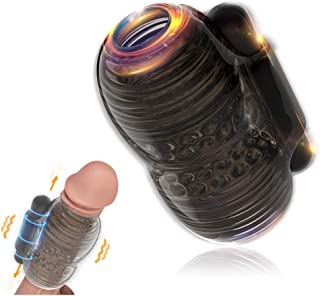 Penis Vibrator, Handhold Men Vibrating Masturbator, Glans Penis Trainer Sex Toys Bullet 10 Speeds Male Vibrator, Improving...