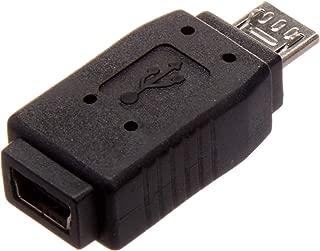 StarTech.com Micro USB to Mini USB 2.0 Adapter M/F - Micro to Mini USB Adapter - Mini USB Adapter - Micro USB to Mini USB (UUSBMUSBMF)