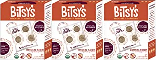 Sponsored Ad - Bitsy's Organic Oatmeal Cookies | Tree Nut and Peanut Free | Vitamin and Mineral Filled Snacks for Kids - 3...