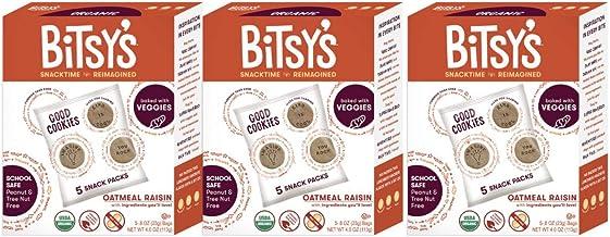 Bitsys Multi-Pack Good Cookies (Oatmeal Raisin, 3 Pack)