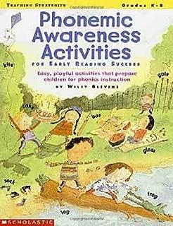 Phonemic Awareness Activities for Early Reading Success (Grades K-2)