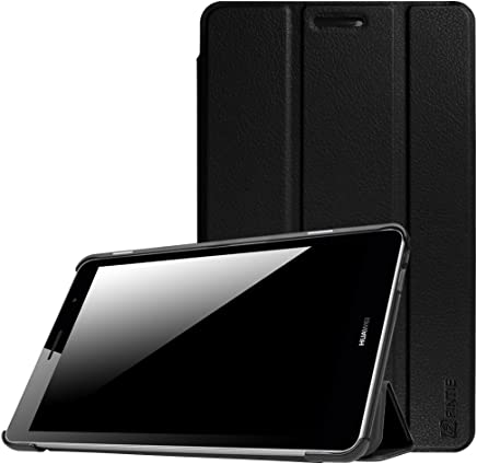"Huawei MediaPad T3 8-Inch Case, Fintie Super Thin SlimShell Lightweight Stand Cover for Huawei MediaPad T3 8"" Tablet, Black"
