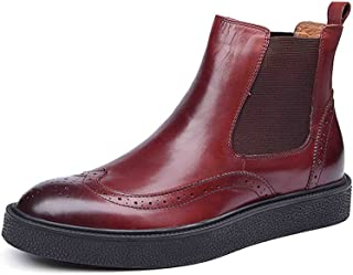 Men's Best Chelsea Boots Kanye West Leather Shoes
