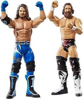 WWE AJ Styles & Daniel Bryan Series 61 Mattel Action Figure 2-Pack Multi