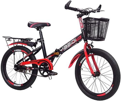 la red entera más baja WY-Tong WY-Tong WY-Tong Bicicleta Infantil Bicicletas Infantiles Deportes al Aire Libre Plegable Velocidad Bicicleta de Montaña Estudiante Cambio de Velocidad Freno de Disco Bicicleta  precio mas barato