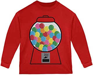 Old Glory Candy Gumball Machine Costume Toddler Long Sleeve T Shirt
