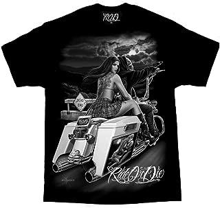 Men's David Gonzales Art DGA Dead End Ride Or Die T Shirt
