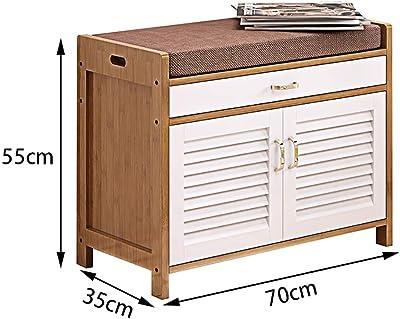Amazon.com: Novogratz 7809884COM Weston - Banco de entrada ...