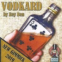 【手品 マジック】Vodkard/カードが酒瓶に入る トランプがボトル貫通 カードin瓶 近景マジック道具 手品 道具