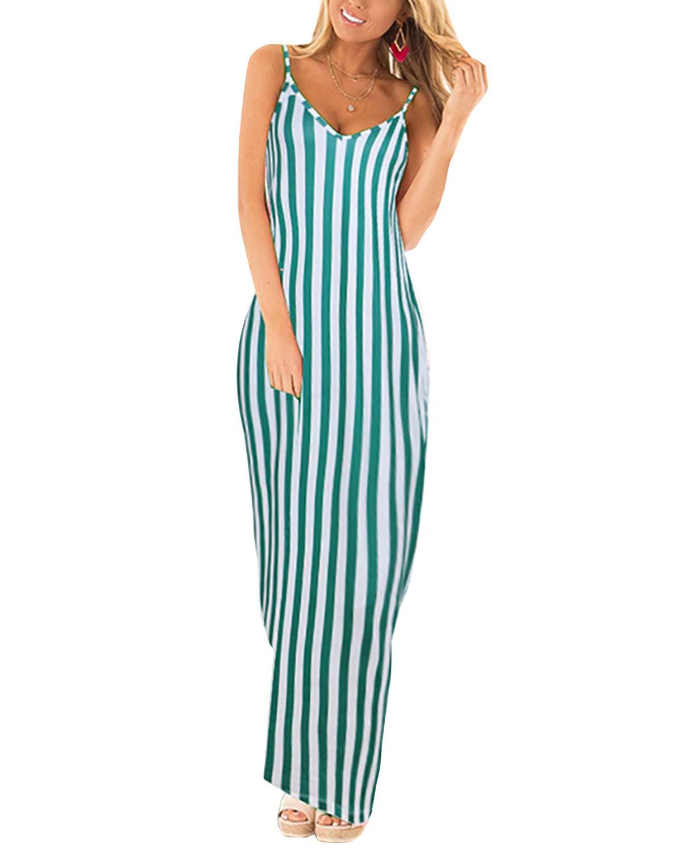 Available at Amazon: ZANZEA Women's Boho Maxi Dress Casual Summer Sundress Long Beach Dress