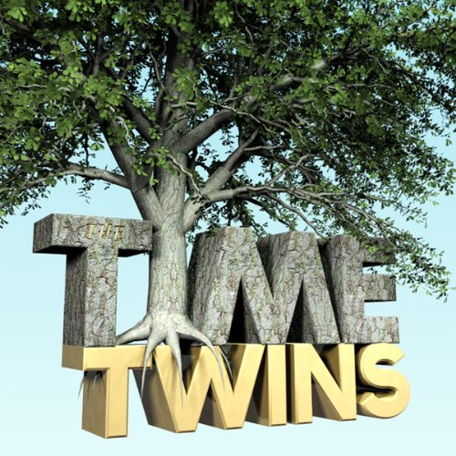 The Time Twins audiobook cover art
