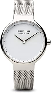 BERING Time 15531-004 Womens Max René Collection Watch with Mesh Band and Scratch Resistant Sapphire Crystal. Designed in Denmark.