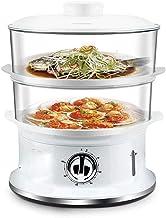 ECSWP Vapeur - Marmite, Oeuf Cuisinière électrique en acier inoxydable avec Braconnier vapeur
