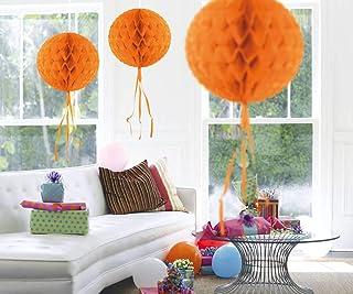 "Taklampa ""Ball of Wabenpapper"" 30 cm orange"