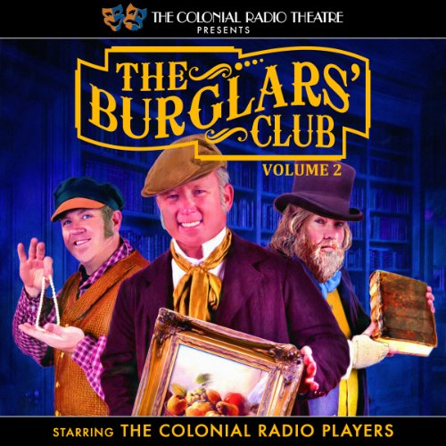 The Burglars' Club, Vol. 2 audiobook cover art