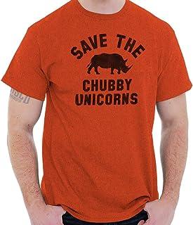Save The Chubby Unicorns Cute Geeky Nerd T Shirt Tee
