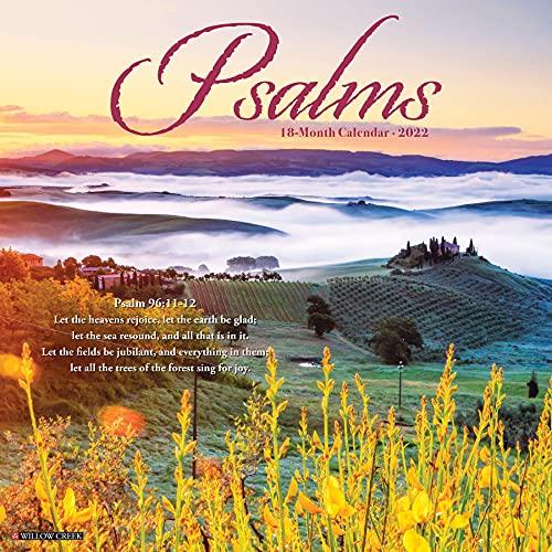 Psalms 2022 Wall Calendar (Bible Verses)
