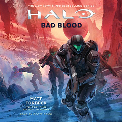 HALO: Bad Blood audiobook cover art