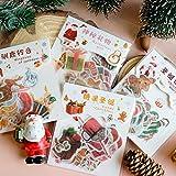BLOUR 40 Stück/Los Fantasy Christmas Series Dekorative Aufkleber Scrapbooking Stick Label Tagebuch Briefpapier Album niedlichen Weihnachtsmann Aufkleber