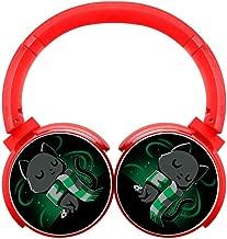 DNpni Cat Wireless Headset Stereo Subwoofer On-Ear Bluetooth Headphone HIFI With Mic