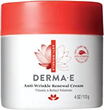 DERMA E Anti-Wrinkle Renewal Cream with Vitamin A Retinyl Palmitate, Diminish the Appearance of Age Lines and Wrinkles