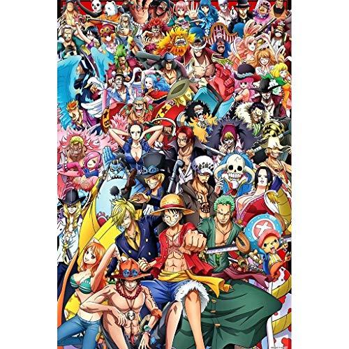 Lfixhssf houten puzzel Anime Koning Rufy Soron Chow 500/1000/1500 Volwassenen verjaardagscadeau Lfixhssf 1500p G