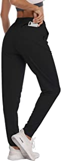 HISKYWIN Women's Athletic Yoga Lounge Pants Drawstring Waist Active Joggers Sweatpants with Pockets