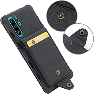 QFH For Huawei P30 Pro Cloth Texture + TPU Shockproof Protective Case with Vertical Flip Card Slots(Black) new style phone...