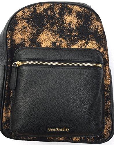 Vera Bradley Leather Leighton Backpack Bronze Age