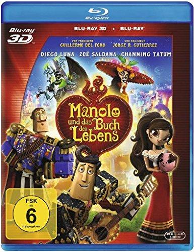 Manolo und das Buch des Lebens (+ 2D-Version) [3D Blu-ray]