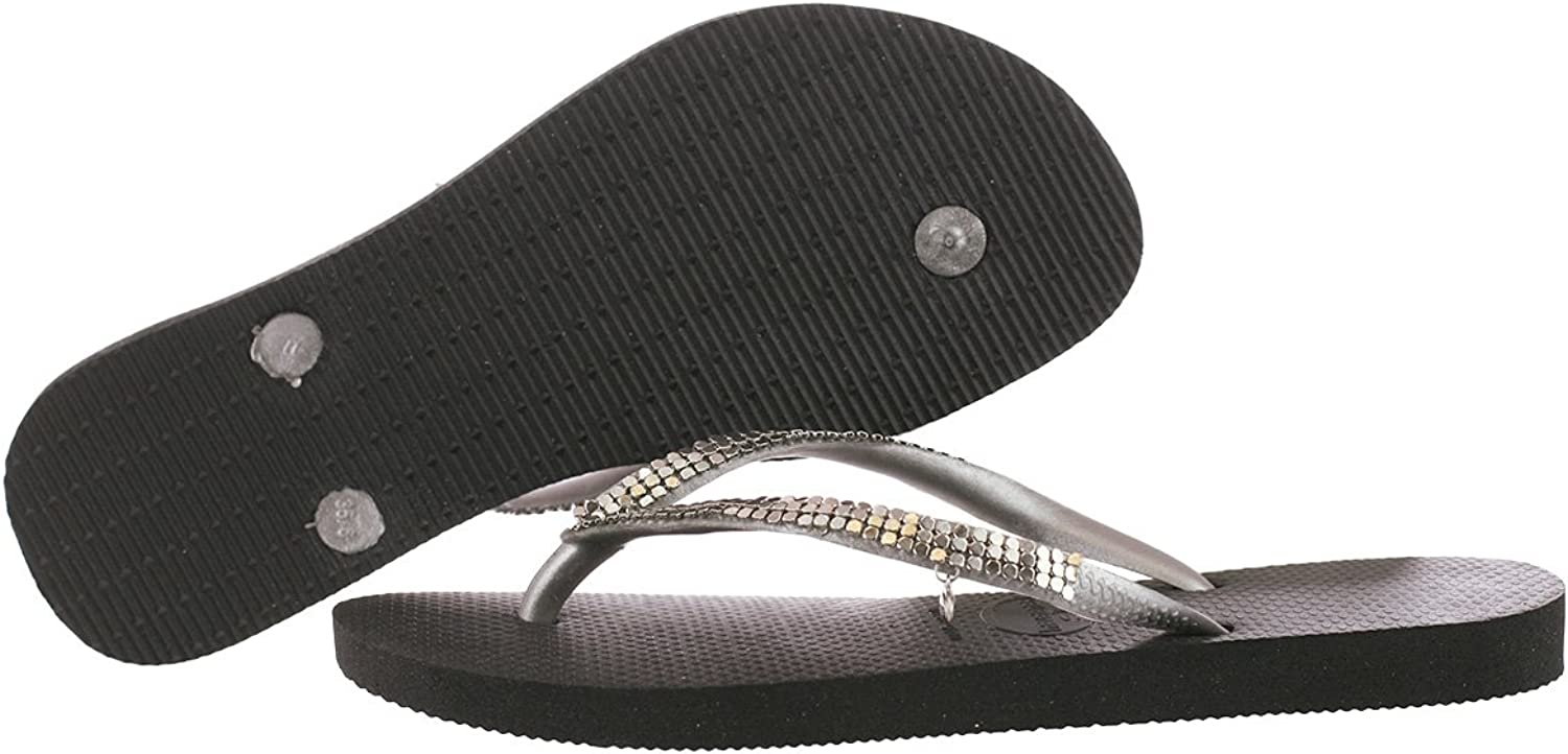 Havaianas Slim 4128069-0090 Black 5 B(M) US Women
