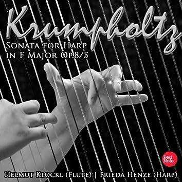 Krumpholtz: Sonata for Harp in F Major Op.8/5